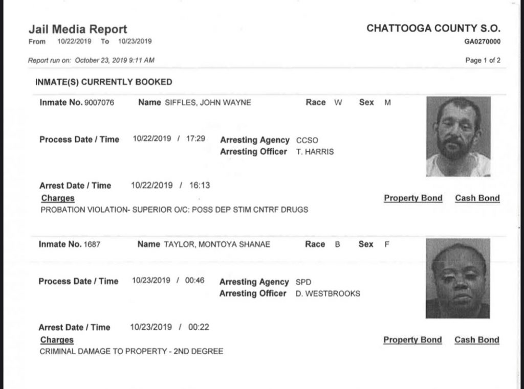 Wednesday's Arrest Report – The Summerville News