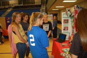Trion Middle School International Fair 2018