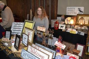 Jill Avans sells handcrafted items