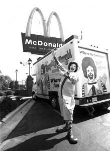 The first McDonald's in Summerville