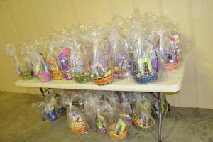 baskets given away