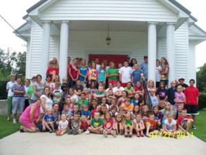 72 chilkdren attend lyerly vbs