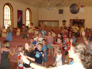 group activity at lyr VBS
