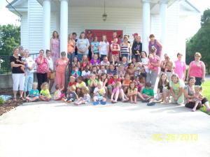 lyerly methodist vbs held