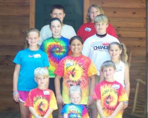 more oak hill methodist VBS participants